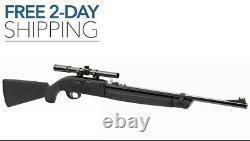 177 Pellet & BB Crosman LEGACY 1000 Single Shot Variable Pump Rifle withscope