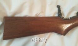 1950-1960 Benjamin Franklin SUPER SINGLE SHOT AIR RIFLE Pellet BB Gun