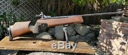 1988 Feinwerkbau Model 300S German 10 Meter Target Air Rifle & Orig. Sights 177