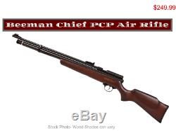 22 Beeman Chief Hardwood PCP Air Rifle, German Engineered Sku1322