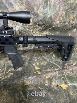 22 PCP Air Rifle T1 Cattleman Guns Pest Control 1 Year Warranty 800-1100 FPS