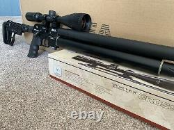 AEA. 25 HP Regulated Tank 3/8 MOA Accuracy Bolt Action W Scope & CNC Stock