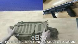 AEA Precision Backpacker Rifle22 HP Semiauto Carbine With PCP Only Supperessor