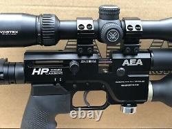 AEA Precision PCP rifle. 25 HP Carbine Semiauto With Scope