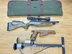 Air Arms S400 Carbine Precision Air Gun Rifle with Extras. 177 Caliber