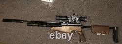 Air Arms S510 XS TDR PCP Quick Takedown Air Rifle. 22cal 6lb, Q-tec Silencer