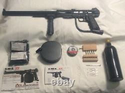 Air Ordnance SMG 22 CO2 Belt Fed Automatic. 22 Submachine Air Gun