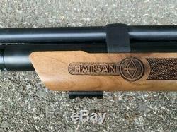Airgun, air rifle, pellet gun, Hatsan. 177, Wood stock, Hatsan flash qe, PCP