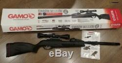 BRAND NEW Gamo Swarm Maxxim. 177 10shot Break Barrel with3-9X40mm Scope Air Rifle