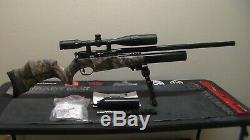 BSA R-10MKII. 22 Air Rifle, Huma Regulator, and Extras