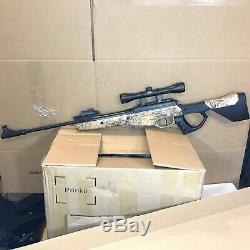 Bear River. 177 Cal TPR 1200 Pellet Air Gun 4x32 Scope 1350 FPS Camo Rifle