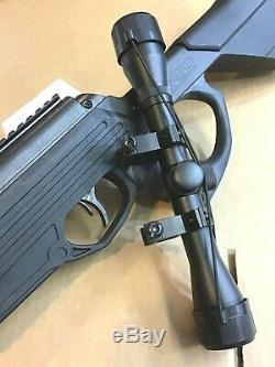 Bear River. 177 Cal TPR 1300 Suppressed Pellet Air Gun 4x32 Scope 1350 FPS Rifle