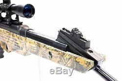 Bear River Hunting Air Rifle TPR 1200 Airgun with Scope. 177 Pellet Gun 1350 fps