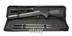 Beeman Air Rifle Silver Kodiak X2 1077SC Dual Barrel with case and scope