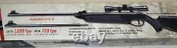 Beeman Black Cub Dual Caliber. 177 &. 22 Cal. Pellet Air Rifle Scope 750-1000 FPS