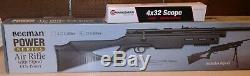 Beeman QB78B Beechwood. 22 Caliber Bolt Action CO2 Air Rifle with Bipod + Scope