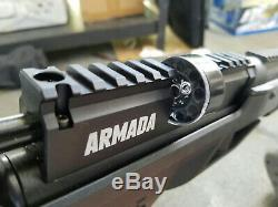 Benjamin Armada Combo. 25 Cal PCP Bolt Action Air Rifle with 4-16x50mm Scope