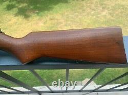 Benjamin Franklin Model 342 Air Rifle Walnut Stock, Super Nice Patina, Vintage