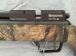 Benjamin Marauder. 22 PCP Air Rifle + Realtree Xtra stock -new openbox condition