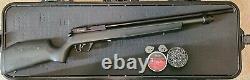 Benjamin Marauder. 25 Cal PCP air rifle airgun JSB pellets hill baffles 2 mags