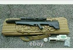 Benjamin Precharged Pneumatic Bull Dog Pup Air Rifle Lot See Description