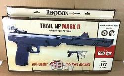 Benjamin Trail NP Mark II. 177 Break Barrel 650 FPS Pellet Air Pistol
