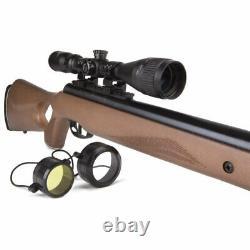 Benjamin Trail NP XL Magnum Nitro Pistol. 25 Cal Break Barrel Air Rifle with Scope