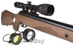 Benjamin Trail NP XL Nitro Piston Air Rifle Pellet Hardwood Stock BT1122WNP