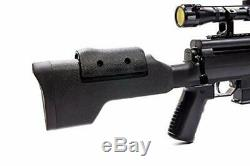 Black Ops Sniper Rifle S Hunting Pellet. 177 Air Rifle with Suppressor Pro