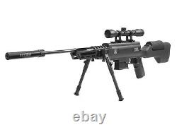 Black Ops Tactical Sniper Air Rifle. 22 Combo 4x32 Scope Mount Adjustable Bipod