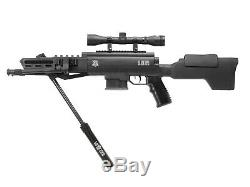 Black Ops Tactical Sniper Air Rifle Combo. 22 caliber