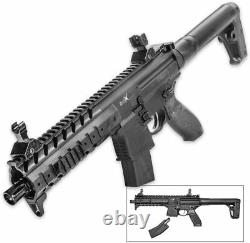 Certified SIG Sauer MPX. 177 Cal Air Rifle Black AIR-UD-MPX-177-BLK Warranty