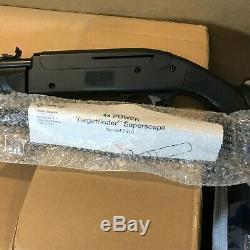 Crosman Legacy 1000 Variable Pump Air Rifle. 177 BB Pellet 4x15 Scope