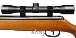 Crosman Optimus Breakbarrel Air Rifle Combo 0.22 Cal 950 Fps Spring-piston