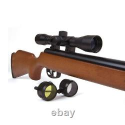 Crosman Optimus Spring Powered. 22 Cal Break Barrel Air Rifle with Scope CO8M22X