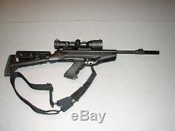 Custom Hatsan SuperTact Air gun & Scope, Pelletgun, Pellet Rifle, Pellet Gun
