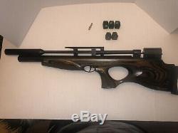 Diana Air Rifle Skyhawk PCP Air Rifle Laminate 0.25 cal Lots Of Extras