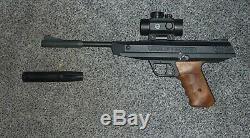 Diana LP8 Pellet Air Pistol 0.177 Caliber Magnum Gun with extras