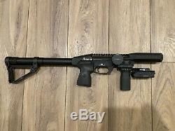 Edgun Leshiy. 25 cal PCP Compact Air Rifle with Extras