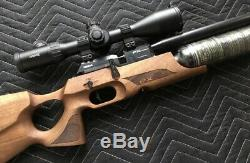 FX Crown. 25 in Walnut (Air Rifle Pellet Gun) Worlds Most Accurate Air Rifle