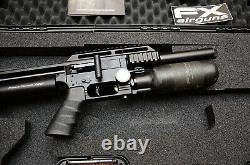 FX Impact M3 Compact Black. 25 Cal PCP Airgun