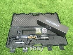 FX Impact M3 Compact Bronze. 25 Caliber PCP Airgun Rifle with Element Optics Scope