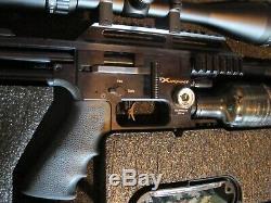 Fx Impact. 22 Pcp Air Rifle Bullpup Pellet Rifle / Plus Scope High Power