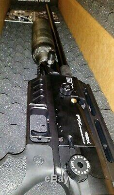 Fx airgun 2019 Dream tact. 25 with two carbon fiber bottles. Buttstock included