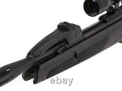 GAMO SWARM WHISPER TEN-SHOT 22 CAL 5.5mm BREAK-BARREL AIR RIFLE 4 X 32 SCOPE