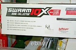 Gamo Swarm Bone Collector 10 Shot 22 Cal Break Barrel Air Gun Pellet Rifle Scope