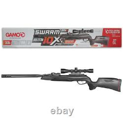 Gamo Swarm Maxxim 10X GEN 2.177 Caliber 10-shot Break Barrel Air Rifle with Scope