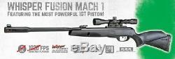 Gamo Whisper Fusion Mach 1.177 Cal 1420 fps Air Rifle with3-9x40 Scope (Refurb)
