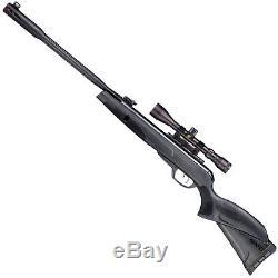 Gamo Whisper Fusion Mach 1.22 Caliber Pellet Air Rifle Gun & 3-9X40 Scope