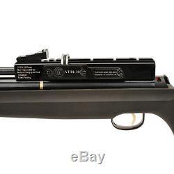 Hatsan AT44S-10 PCP Air Rifle. 25 Cal Black Barrel -Synthetic Stock HGAT44S10-25